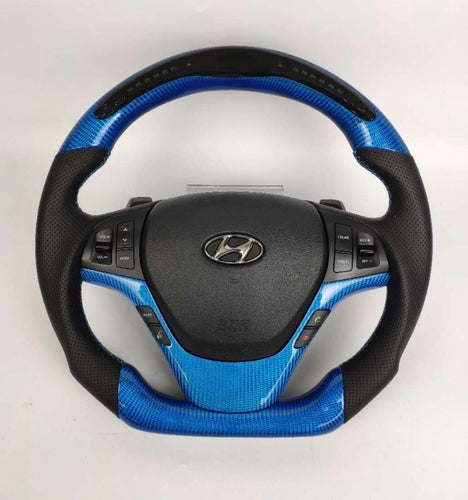 2013+ Hyundai Genesis Coupe Carbon Fiber Steering Wheel