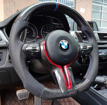 Load image into Gallery viewer, 2013-2019 BMW F8X M3/M4 Carbon Fiber Steering Wheel