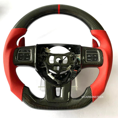 2011-2014 Dodge Charger/Challenger Carbon Fiber Steering Wheel