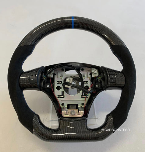 Chevrolet C6 Corvette Carbon Fiber Steering Wheel