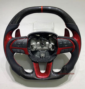 Dodge Challenger Carbon Fiber Steering Wheel