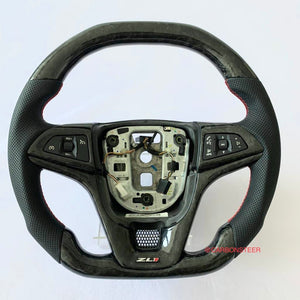 2012-2015 Chevrolet Camaro Carbon Fiber Steering Wheel