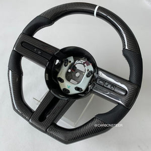 2005-2009 Ford Mustang Carbon Fiber Steering Wheel