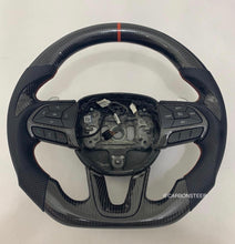 Load image into Gallery viewer, Dodge Challenger Carbon Fiber Steering Wheel