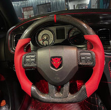 Load image into Gallery viewer, 2011-2014 Dodge Charger/Challenger Carbon Fiber Steering Wheel