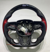 Load image into Gallery viewer, Dodge Durango Carbon Fiber Steering Wheel