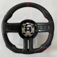 Load image into Gallery viewer, 2010-2014 Ford Mustang Carbon Fiber Steering Wheel