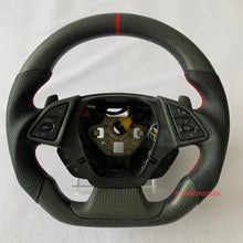 Load image into Gallery viewer, 2016+ Chevrolet Camaro Carbon Fiber Steering Wheel