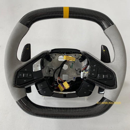 Chevrolet C8 Corvette Carbon Fiber Steering Wheel