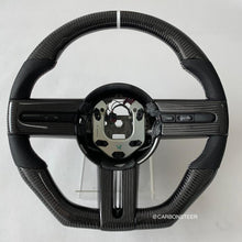 Load image into Gallery viewer, 2005-2009 Ford Mustang Carbon Fiber Steering Wheel