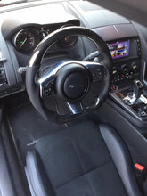 Load image into Gallery viewer, Jaguar F-Type Carbon Fiber Steering Wheel
