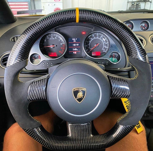 Lamborghini Gallardo Carbon Fiber Steering Wheel