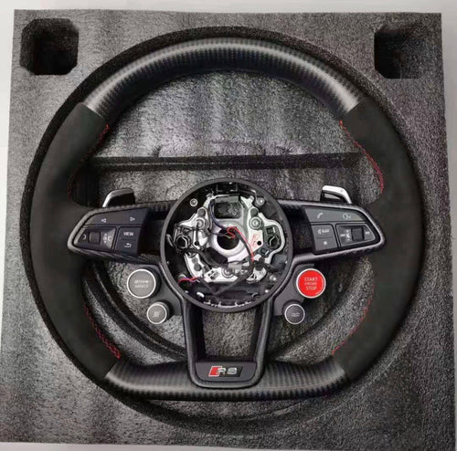 2016+ Audi R8 Carbon Fiber Steering Wheel