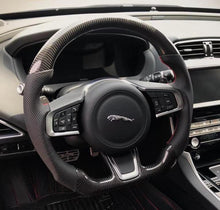 Load image into Gallery viewer, Jaguar XE Carbon Fiber Steering Wheel