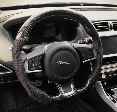 Jaguar XE Carbon Fiber Steering Wheel