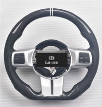 Load image into Gallery viewer, Jeep Wrangler JK Carbon Fiber Steering Wheel