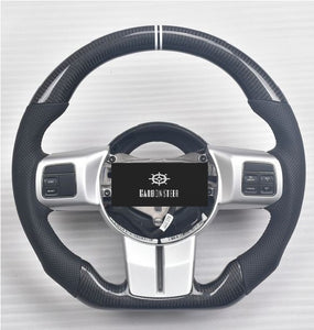 Jeep Wrangler Carbon Fiber Steering Wheel