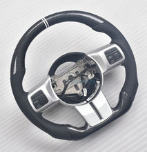 Load image into Gallery viewer, Jeep Wrangler Carbon Fiber Steering Wheel
