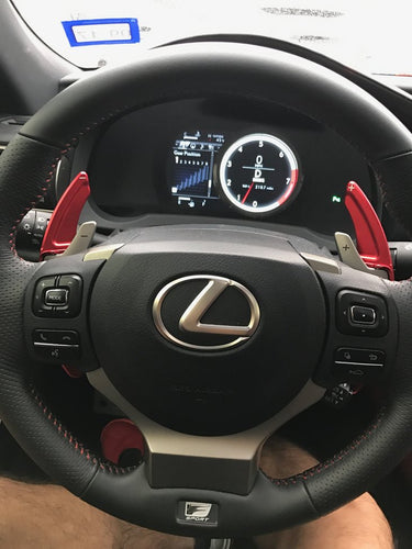 Lexus Aluminium Paddle Shift Extensions