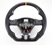 Load image into Gallery viewer, 2008-2014 VW Golf (Mk6) Carbon Fiber Steering Wheel