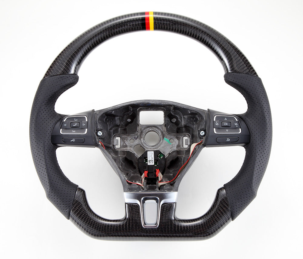 2008-2014 VW Golf (Mk6) Carbon Fiber Steering Wheel