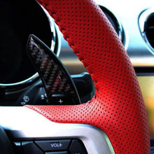 Load image into Gallery viewer, Ford Mustang Carbon Fiber Paddle Shift Extensions
