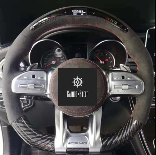 2019+ Mercedes-Benz G-Class Carbon Fiber Steering Wheel