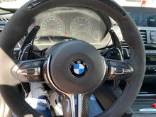 Load image into Gallery viewer, BMW Carbon Fiber Paddle Shift Extensions