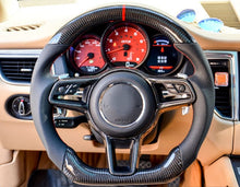 Load image into Gallery viewer, Porsche 718 Cayman/Boxster Carbon Fiber Steering Wheel
