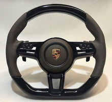 Load image into Gallery viewer, Porsche 911 Carbon Fiber Steering Wheel