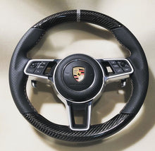 Load image into Gallery viewer, Porsche Cayenne Carbon Fiber Steering Wheel