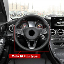 Load image into Gallery viewer, Mercedes-Benz C/E/GLC Carbon Fiber Steering Wheel Trim