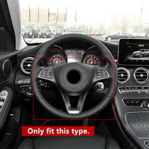 Mercedes-Benz C/E/GLC Carbon Fiber Steering Wheel Trim