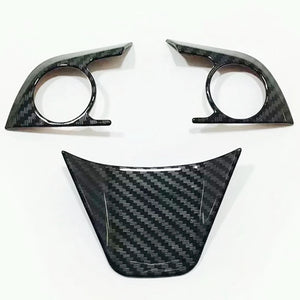 Toyota Camry Carbon Fiber Steering Wheel Trim