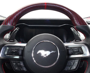 Ford Mustang Carbon Fiber Paddle Shift Extensions