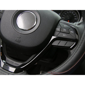Jeep Grand Cherokee Carbon Fiber Steering Wheel Trim