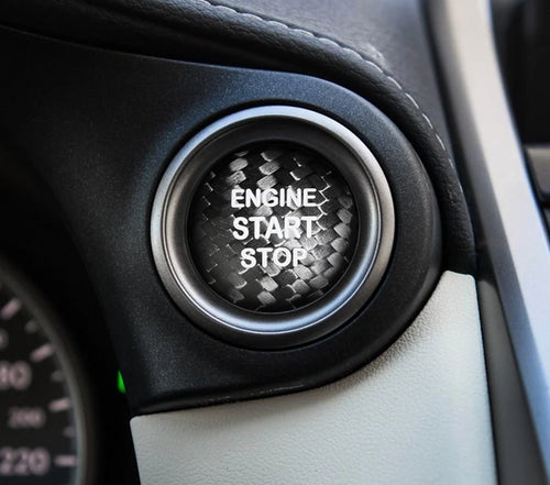 Lexus Carbon Fiber Engine Start Stop Button