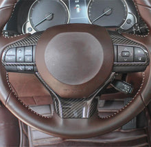 Load image into Gallery viewer, Lexus Carbon Fiber Steering Wheel Trim