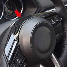Load image into Gallery viewer, Mazda Carbon Fiber Steering Wheel Trim