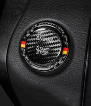 Load image into Gallery viewer, Mercedes-Benz Carbon Fiber Engine Start Stop Button