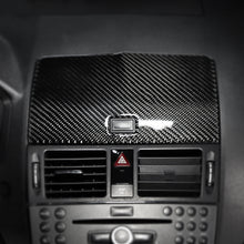 Load image into Gallery viewer, Mercedes Benz C Class W204 Carbon Fiber Navigation Cover