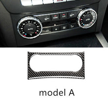 Load image into Gallery viewer, Mercedes Benz C Class W204 Carbon Fiber AC Control Panel