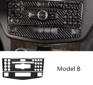 Mercedes Benz C Class W204 Carbon Fiber Center Console