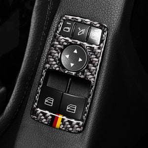 Mercedes Benz C/E Class Carbon Fiber Window Controls