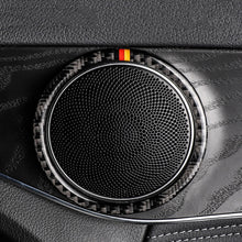 Load image into Gallery viewer, Mercedes-Benz C-Class / GLC Carbon Fiber Speaker Rings