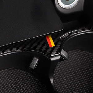 Mercedes-Benz C-Class / GLC Carbon Fiber Cup Holder Trim