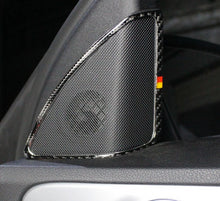 Load image into Gallery viewer, Mercedes-Benz C-Class W205 Carbon Fiber A-Column Speaker Trim
