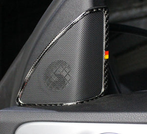 Mercedes-Benz C-Class W205 Carbon Fiber A-Column Speaker Trim