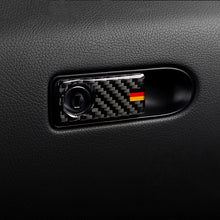 Load image into Gallery viewer, Mercedes-Benz C-Class / GLC Carbon Fiber Glove Box Button