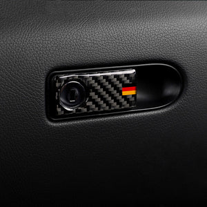 Mercedes-Benz C-Class / GLC Carbon Fiber Glove Box Button